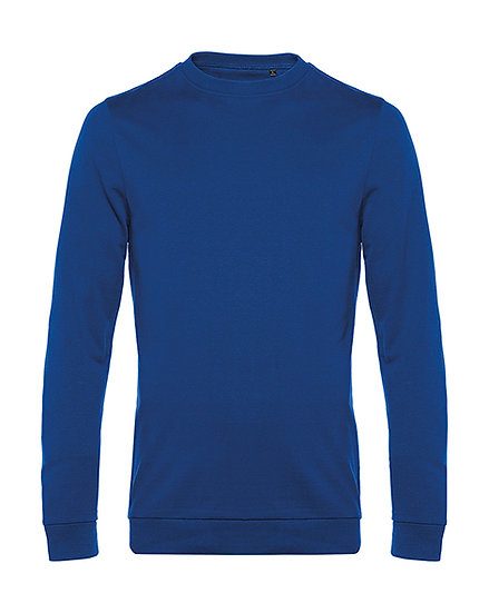 "Sweatshirt French Terry ""royal blue"" 100 pièces"