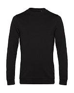 """Sweatshirt French Terry """"black pure"""" pièce unique"""
