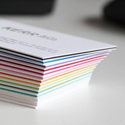 Cartes de visite Color