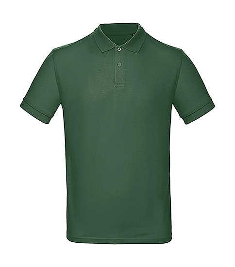"""Polo éthique """"bottle green"""" 10 pièces"""