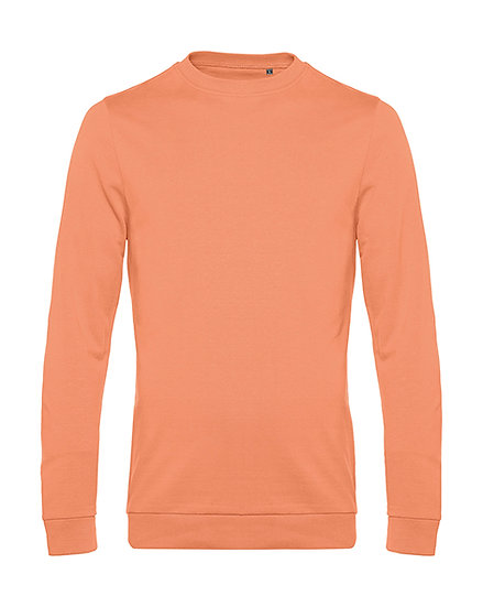 "Sweatshirt French Terry ""melon orange"" pièce unique"