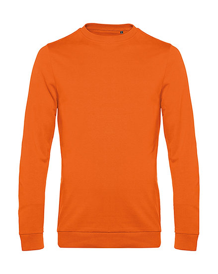 "Sweatshirt French Terry ""pure orange"" 10 pièces"