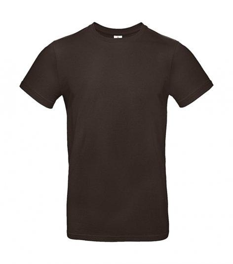 Tee-shirt premium marron pièce unique