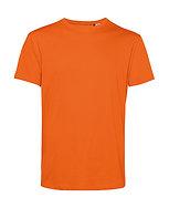 """Tee-shirt éthique """"pure orange"""" pièce unique"""