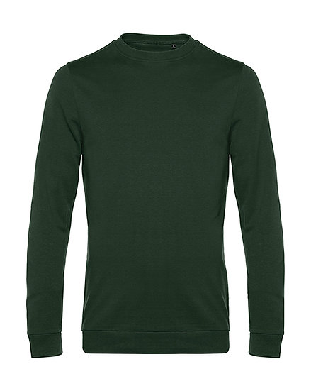"Sweatshirt French Terry ""forest green"" 50 pièces"