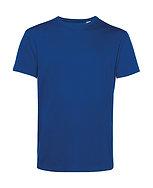 """Tee-shirt éthique """"royal blue"""" pièce unique"""