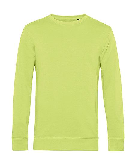 """Sweatshirt éthique French Terry """"lime"""" pièce unique"""