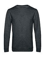 """Sweatshirt French Terry """"heather asphalt"""" pièce unique"""