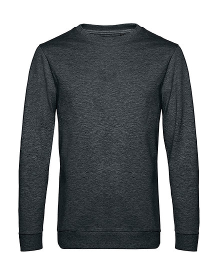 "Sweatshirt French Terry ""heather asphalt"" 10 pièces"