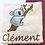 Thumbnail: Drap de bain éthique brodé koala - cadeau personnalisé