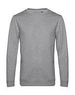 "Sweatshirt French Terry ""heather grey"" pièce unique"