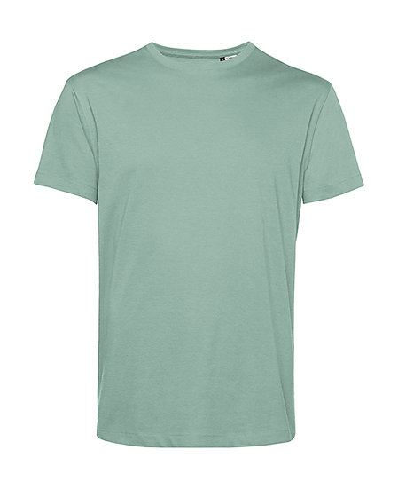 """Tee-shirt éthique """"sage green"""" pièce unique"""