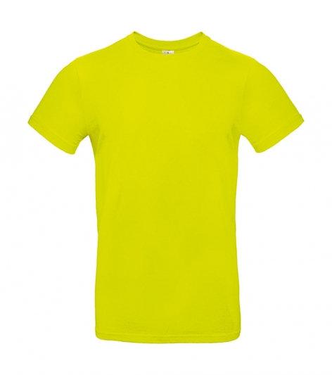 "Tee-shirt premium ""pixel lime"" 10 pièces"
