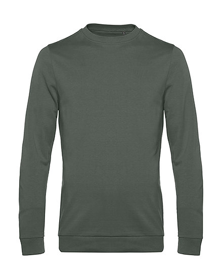 "Sweatshirt French Terry ""millenial khaki"" pièce unique"