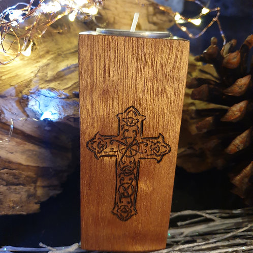 Cross Candle holder (a)