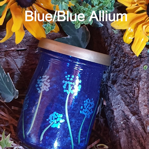 Seed Jar Blue/Blue Allium