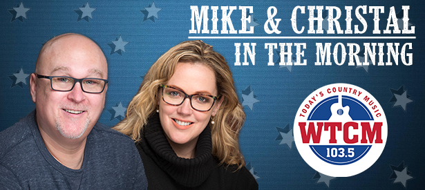 Mike and Christal banner