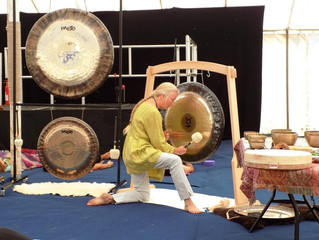 Sound Healing Gong Workshops with Sheila Whittaker
