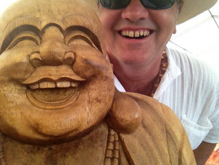 What does laughter yoga add to mindfulness?