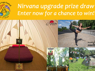 Enter the NIRVANA upgrade prize draw - open now to everyone who books a Full 4-Day Pass!