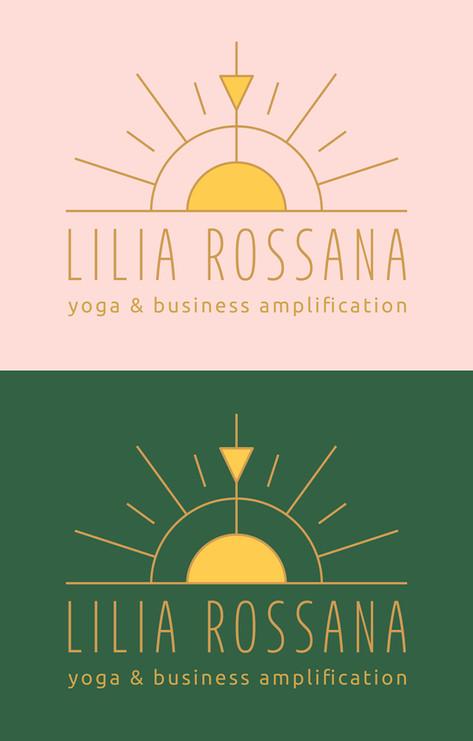 Lilia Rossana - Identidade Visual