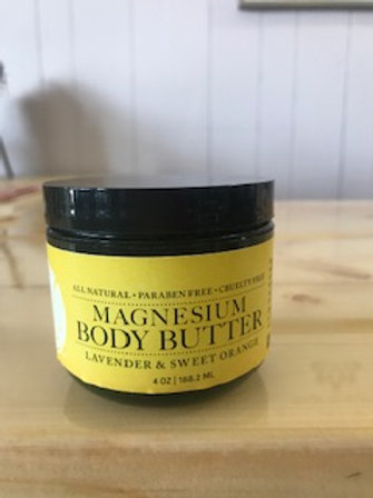 Lavender & Sweet Orange Body Butter - The Bohemian Mama