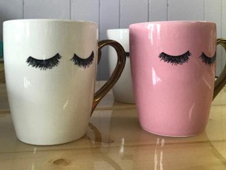 Eyelash Ceramic Mug