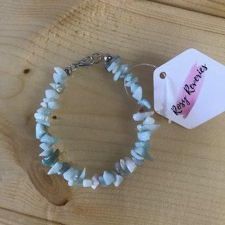 Gemstone Crystal Bracelet - Rosy Reveries