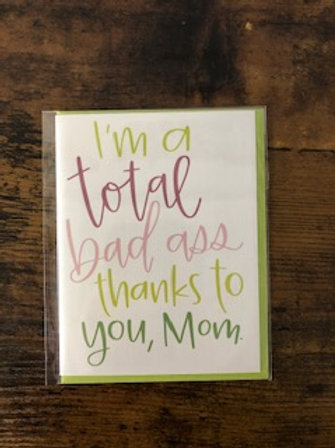Mother's Day - Bad Ass Card