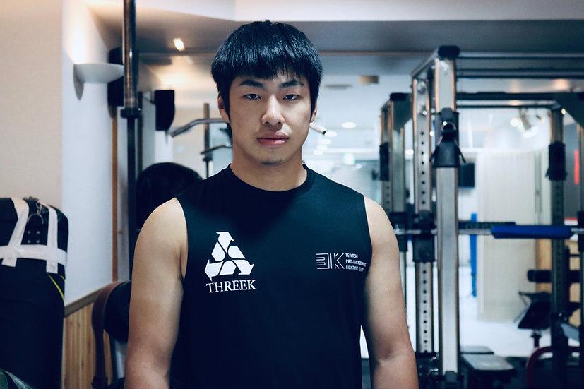 T3K fighting sleeveless top