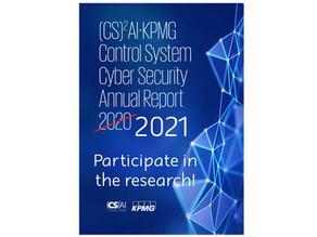Announcing the (CS)²AI-KPMG 2021 Control System Cyber Security Survey & Report
