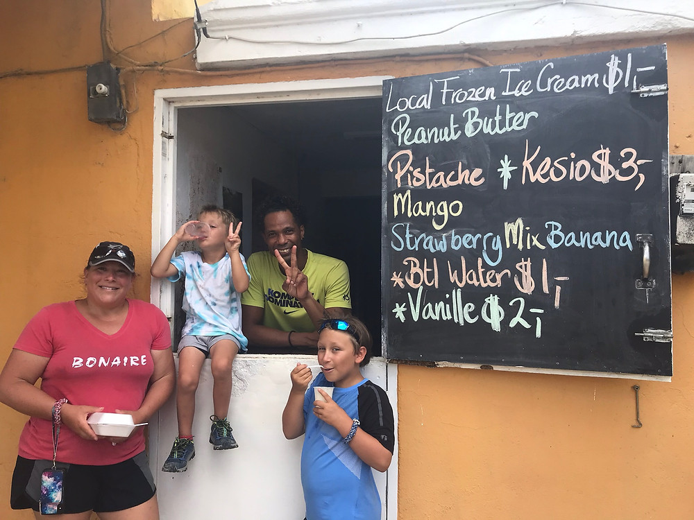 One new friend, Vladimir, from the Cuban restaurant, sells amazing homemade ice cream out of his house! YUM!!