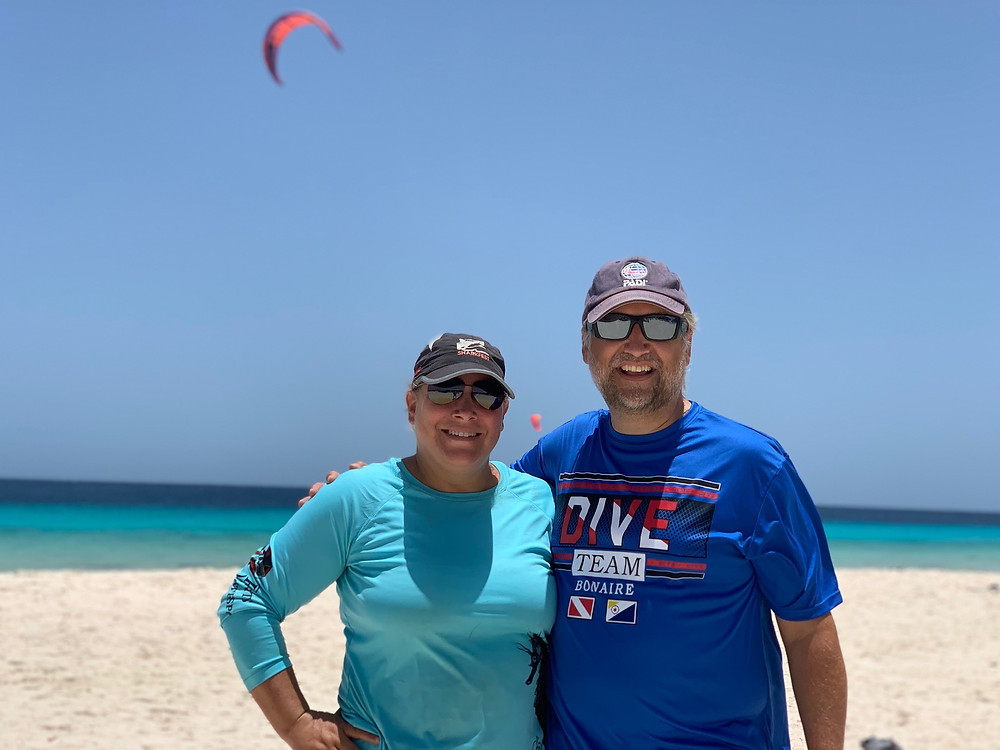 Windsurfing and Kite Boarding are great in Bonaire because of the wind. I was even able to wear long sleeves throughout the day to avoid the sun!
