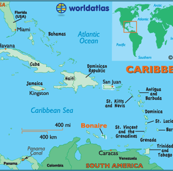 Where in the world is Bonaire?