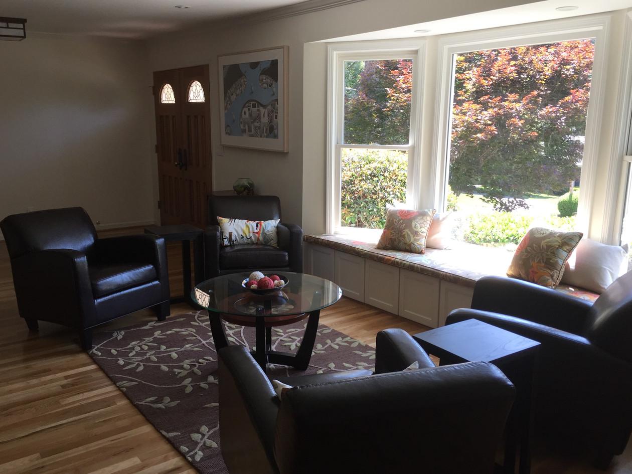 indoor conversation area