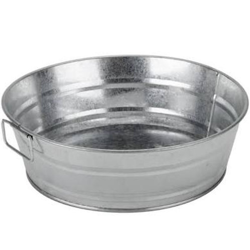 Use of Large Galvanized Tub