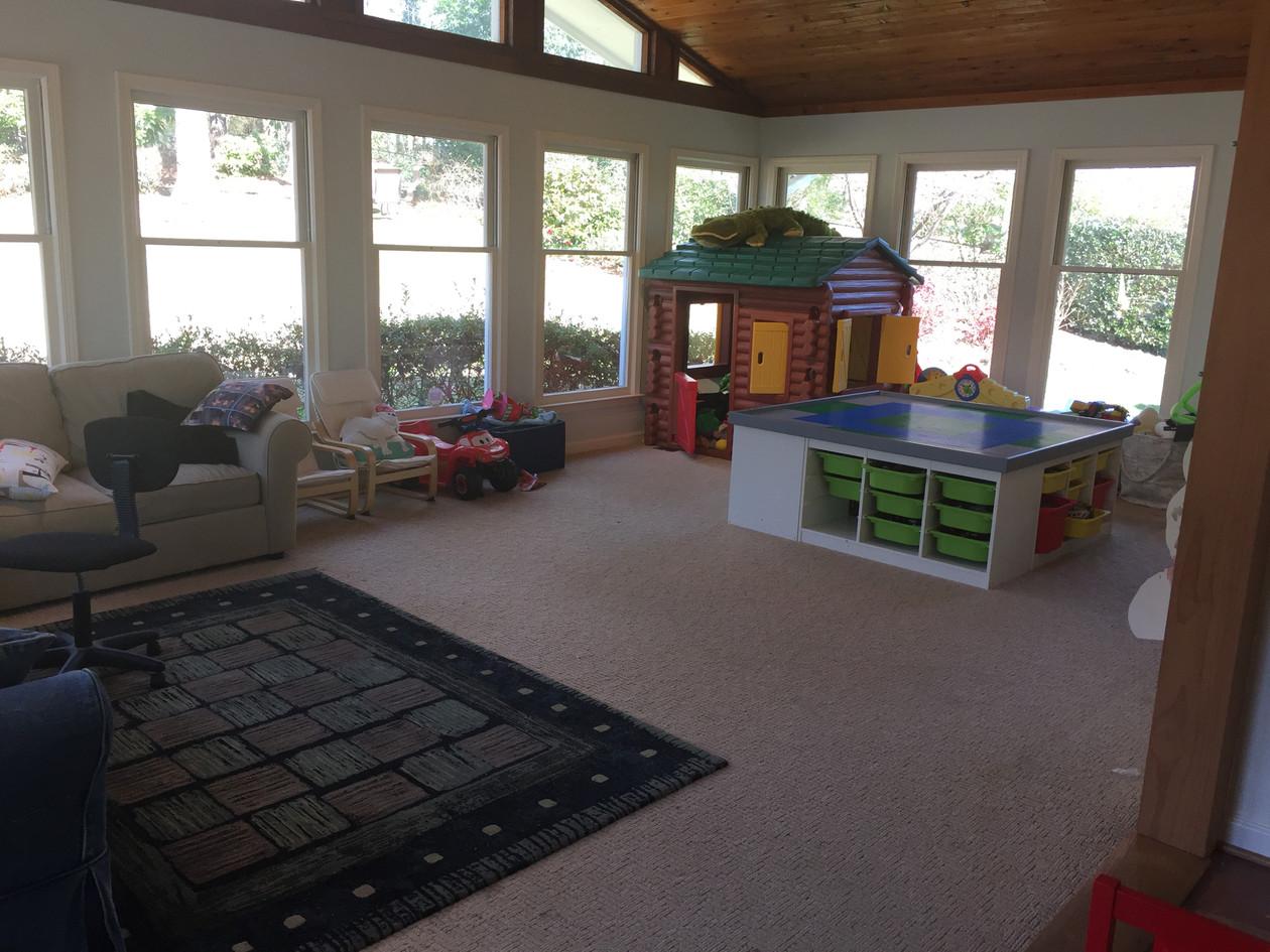 sunroom / play room