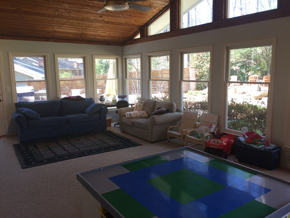 sunroom/play room
