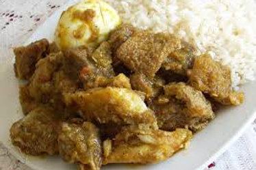 Ayamase & Rice