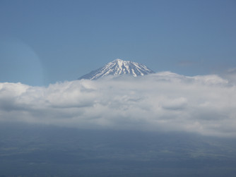 Flirting with Mt. Fuji