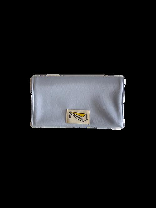 制菌保冷剤ポケット付きマスクケース S-3水色