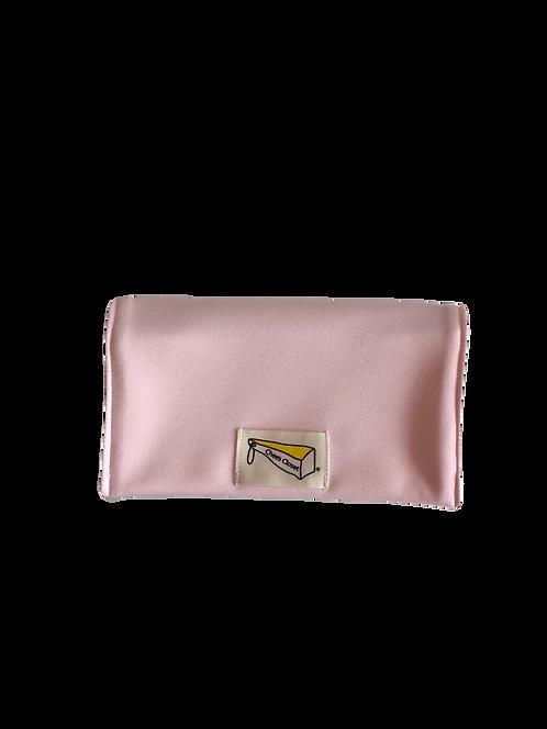 制菌保冷剤ポケット付きマスクケース S-2ピンク
