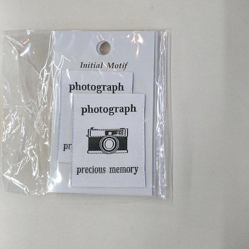 IMN-04 モチーフタグネームM 06 カメラ