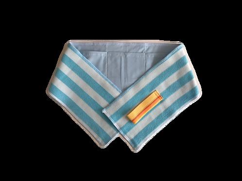 保冷剤ポケット付きタオル【小】B-3ブルー