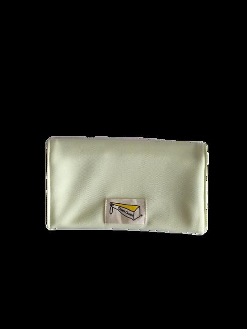制菌保冷剤ポケット付きマスクケース S-1イエロー