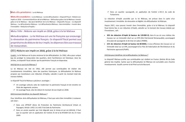 articles loi Malraux