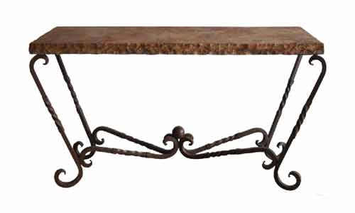 Brilliant Tuscan Console Tables Western Style Sofa Tables Fiesta Download Free Architecture Designs Lukepmadebymaigaardcom