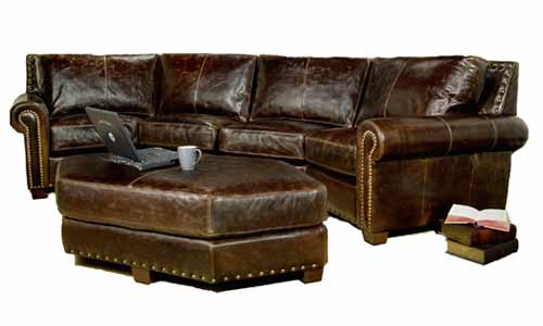 Southwestern Leather Sectional