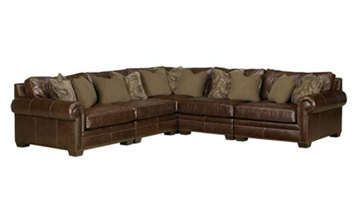 Leather Southwestern Sectional