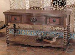 Western Sofa Table